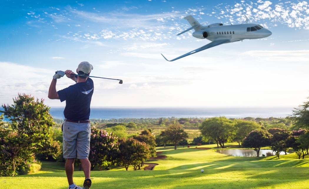 5 Golf Destinations Accessible by Private Plane
