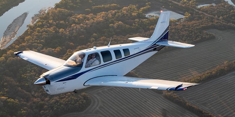 bonanza single-piston aircraft